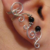 Swirly Ear Cuff by Gailavira