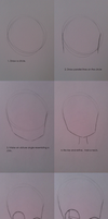 Tutorial: Anime Head and Face by LissieDollx3