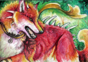 Youko ACEO by animalartist16