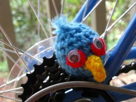 Angry Birds - Blue Amigurumi by Lady-Nocturna