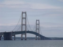 Mackinac Bridge by The-Necromancer