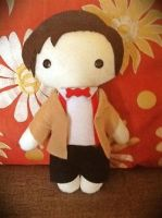 Eleventh Doctor Plushie by jasmineofderpsalot