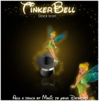 TinkerBell Icon by imwalkingwithaghost