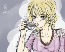 Tea Time Sketch by Sany95
