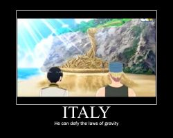 Italy Motivational Poster by JapanForever