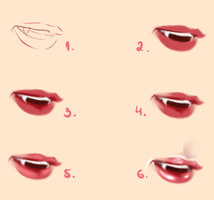 Vampire Lips - Tutorial by Kipichuu