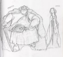 King and Queen by PigwidgeonofNarnia