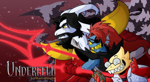 Underfell Fangame Wallpaper 2 by Whimsy-Floof