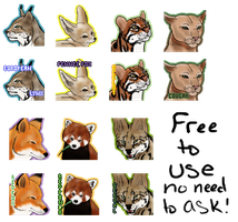 FREE Endangered Species Icons by 1307QueenOfTheNight