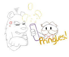 HAVE SOME PRINGLES! by Bubblegum423