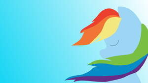 Rainbow Dash Wallpaper 3 by XVanilla-TwilightX