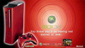 Xbox360 Red Elite Ad by iRictor