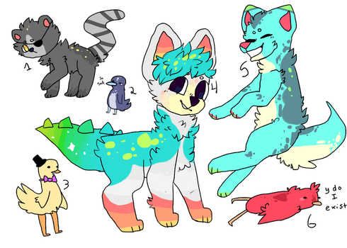 random adopts-- open by dogg-y