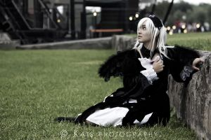 Suigintou wallpaper by PrisCosplay