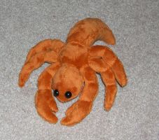 Hermit crab plush by Bladespark