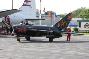 Mig 17 at Lost Nation 2008 by SwiftFlyer