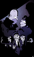 Simpsons Noir by Sit-by-Me-and-sea