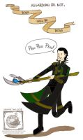 Loki-Boys will be boys by JasmineTwiL