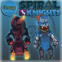 Spiral knights group by TadeusVillain