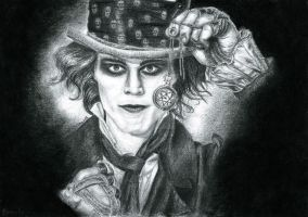 Ville as Mad Hatter by Aillly