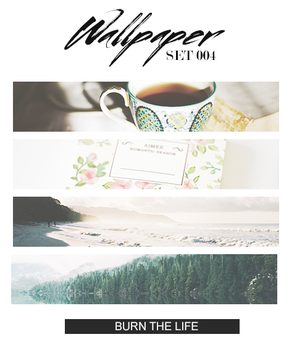 Wallpaper Set 004 by Burn-the-life
