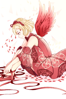 [ RED SHOES ] Miracle Nikki by JunoLife