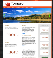 Tomato! New CSS Template by shafeequeom