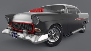 1955 Chevrolet Bel Air Custom by SamCurry