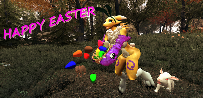 Easter Fox by LordzBacon