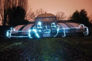 Light painting by nothings-at-23h05