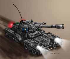 Light Tank -coloured- by s0lar1x