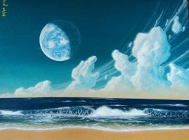 Mare Tranquillitatis by Axel-Astro-Art