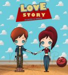 Love Story Claire X Steve by Vicky-Redfield