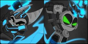 Ratchet and Clank by KicsterAsh