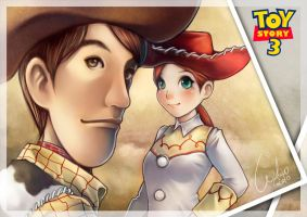 Woody and Jessie by Wuduo