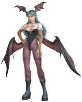 Morrigan in 3d by HecM