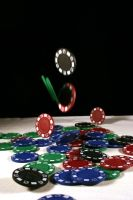 Poker Chip Stock 1 by GloomWriter