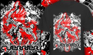 GUERRIER robot tee by glowingblue