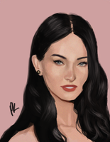 Megan Fox copy by VactuART