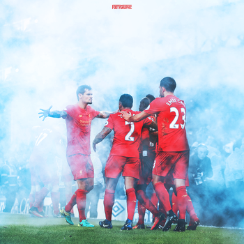 Liverpool Merseyside derby by Footygraphic