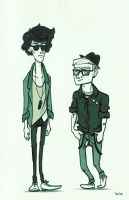 Hipster Sleuths by SirLemoncurd