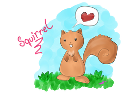 Squirrel o3o by WndN3