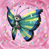 My Vivillon Sulleigh by Nabilum