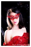 Red Sequins by Film-Exposed