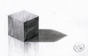 Graphite Drawing by zixmix