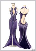 Dress Design Evening by princessmoony
