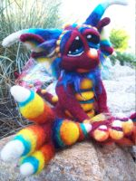 Red Razzle Dragon by Tanglewood-Thicket