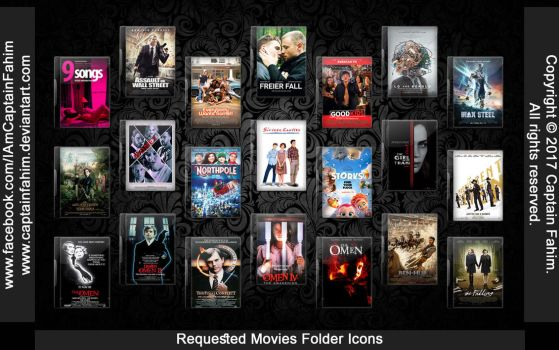 Requested Movies Folder Icons - Code #70000003+4 by CaptainFahim