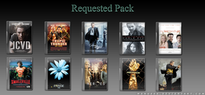 Requested DVD Icons 2 by manueek