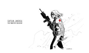 The Winter Soldier by AndrewKwan
